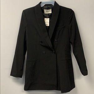 Stradivarius blazer dress in black